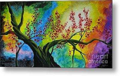 The Tree Metal Print by Betta Artusi
