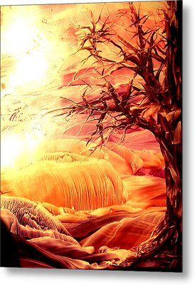 The Tree Metal Print by Tezz J