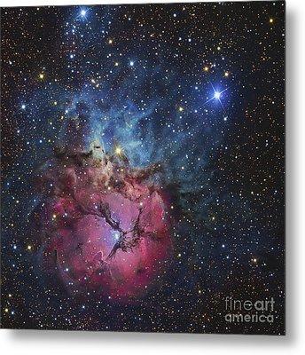 The Trifid Nebula Metal Print by R Jay GaBany