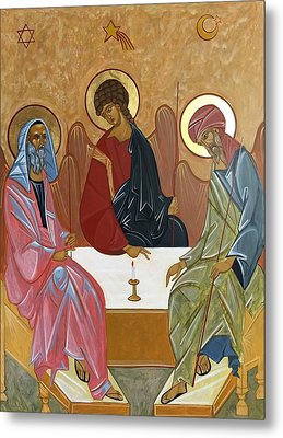 The Trinity Of Unity Metal Print