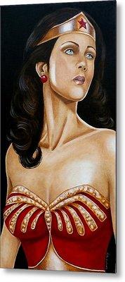 The True Wonder Woman 2 Metal Print by Al  Molina