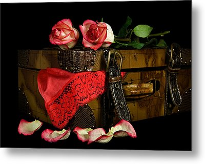 The Tryst Metal Print by Maria Dryfhout