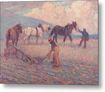 The Turn Rice-plough, Sussex Metal Print