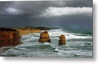 Metal Print featuring the photograph The Twelve Apostles by Marion Cullen