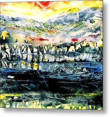 The Twisted Reach Of Crazy Sorrow Metal Print by Trudi Doyle