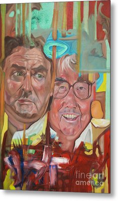 The Two Ronnies Metal Print by James Lavott