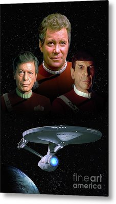 The Undiscovered Country Metal Print