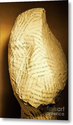 The Unfinished Story Metal Print