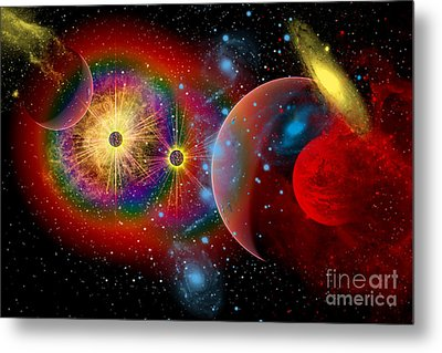 The Universe In A Perpetual State Metal Print