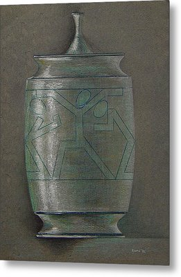 The Urn Metal Print by Ron Sylvia