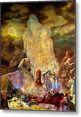 The Valley Of Sphinks Metal Print by Henryk Gorecki