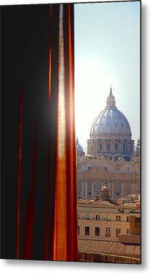The Vatican Metal Print by Valentino Visentini