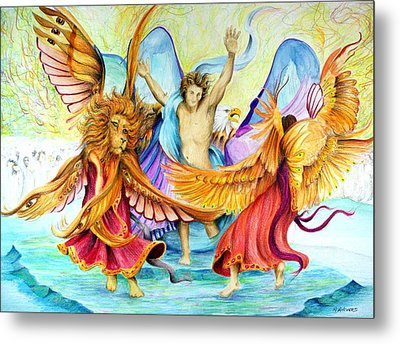 The Victory Dance Metal Print by Rick Ahlvers