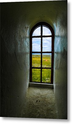 The View Metal Print by Arve Sirevaag