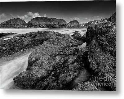 The View From The Rocks Metal Print by Masako Metz