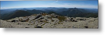 The View North From Mt. Marcy Metal Print by Joshua House