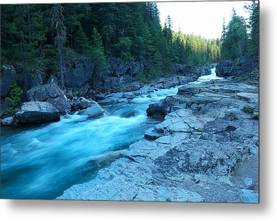 The View Of A River Metal Print by Jeff Swan