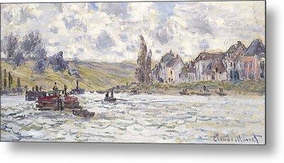 The Village Of Lavacourt Metal Print by Claude Monet