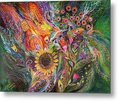 The Voice Of Spring Metal Print by Elena Kotliarker