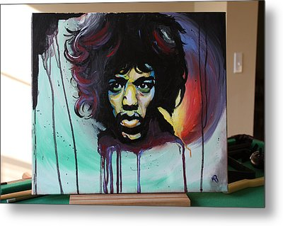 The Voodoo Child Metal Print by Matt Burke