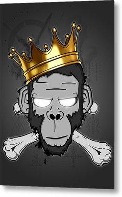 The Voodoo King Metal Print by Nicklas Gustafsson