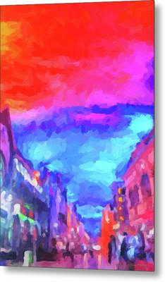 The Walkabouts - Sunset In Chinatown Metal Print