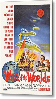 The War Of The Worlds, Bottom From Left Metal Print