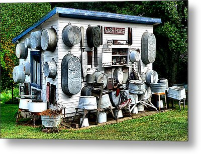 The Wash House Metal Print