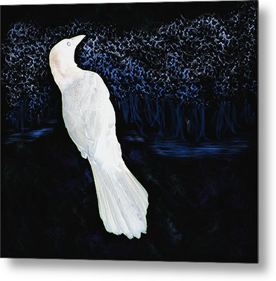 The Watcher In The Forest Metal Print