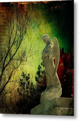 The Watcher Metal Print by Leah Moore