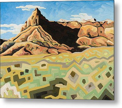 The Watchtower Metal Print by Dale Beckman