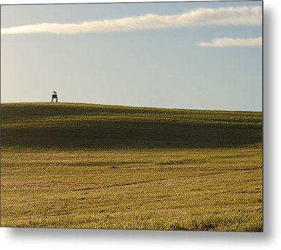 The Watchtower Metal Print by Richard Reeve
