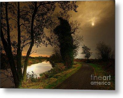 The Water Trail Metal Print by Kim Shatwell-Irishphotographer