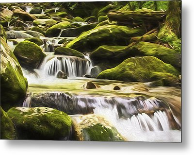 The Water Will II Metal Print by Jon Glaser