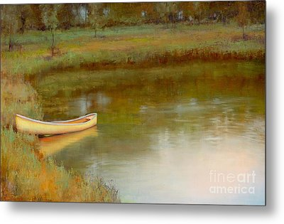 The Water's Edge Metal Print by Lori  McNee