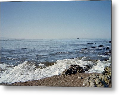 The Waves Of Undeconstruction Metal Print by Susanne Awbrey