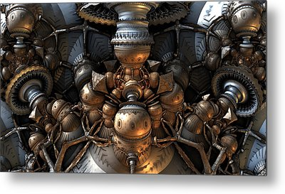 The Way Back Machine Metal Print