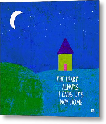Metal Print featuring the painting The Way Home by Lisa Weedn