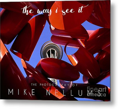 The Way I See It Coffee Table Book Cover Metal Print by Mike Nellums