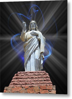 Metal Print featuring the photograph The Way by Shane Bechler