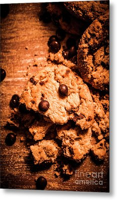 The Way The Cookie Crumbles Metal Print