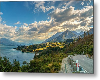 The Way To Glenorchy Metal Print
