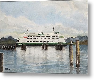 The Way To Whidbey Island Metal Print by M Carlen