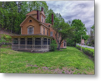 The Wayside Home Of Nathaniel Hawthorne Metal Print