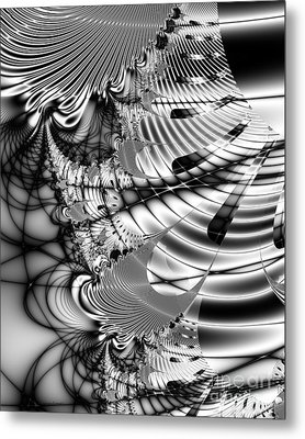 The Web We Weave Metal Print