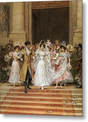 The Wedding Metal Print by Frederik Hendrik Kaemmerer