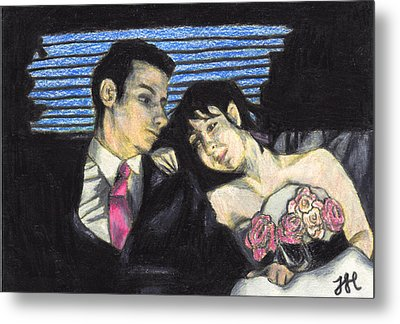 The Wedding Gift Metal Print by Jean Haynes