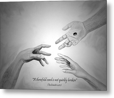 The Wedding Gift Metal Print