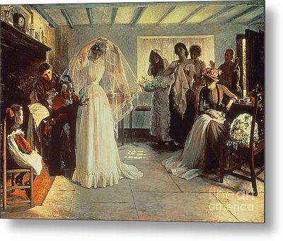 The Wedding Morning Metal Print