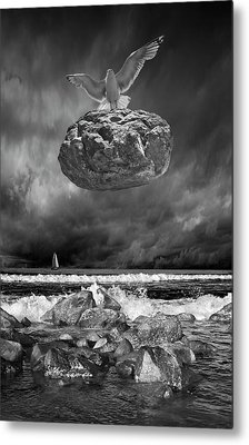 Metal Print featuring the photograph The Weight Is Lifted by Randall Nyhof